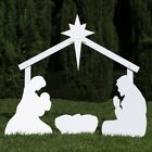 Outdoor Nativity Store Holy Family Outdoor Nativity Set Standard White