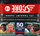 2013 Score NFL Football Jumbo Box