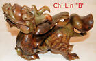 Large Red Jade Chi Lin