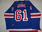 RICK NASH SIGNED NEW YORK RANGERS 2014 STANLEY CUP HOME JERSEY