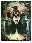 Gene Simmons KISS signed and numbered limited edition print ONLY 100 made