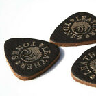 Timber Tones Leather Tones Brown Ukulele Pick Single Pick