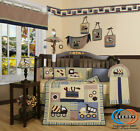 Boutique Baby Boy Constructor 13PCS CRIB BEDDING SET