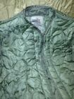 LINER COLD WEATHER COAT M65 FIELD JACKET QUILTED NYLON US MILITARY MED NOS NEW