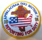 Appalachian Dist Section 1991 Reporting For Duty Royal Ranger Uniform Patch