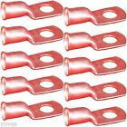 10 PACK 4ga Gauge 5/16 Ring Terminal golf cart car Battery cable wire COPPER