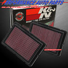 K&N 33-2494 Hi-Flow Air Intake Drop in Filter for 1999-2010 Ferrari 360 F-430