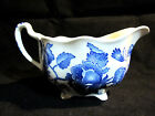 Rare Footed Johnson Brothers English Chippendale Gravy Boat Blue
