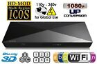SONY BDP-S5200 3D Wi-Fi Multi Zone All Region Code Free Blu Ray Disc DVD Player