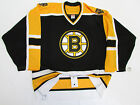 BOSTON BRUINS AUTHENTIC HOME TEAM ISSUED REEBOK 6100 HOCKEY JERSEY SIZE 52