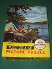 Vintage Tuco Puzzle A PERFECT DAY Fishing Hunting Camping Great Outdoors