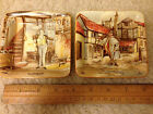 NEW HALL Hanley Staffordshire England Mr.BUMBLE + PECKSNIFF DISH PIN TRAY
