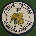 Royalty Rangers Nothing Difficult Is Ever Easy Patch