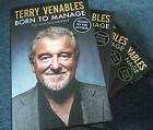 TERRY VENABLES Born To Manage Autobiography HAND SIGNED First 1 1 Hardback Book