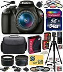 Canon EOS Rebel T3 1100D SLR Digital Camera with 18 55mm Lens Professional Kit