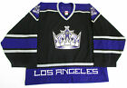 LOS ANGELES KINGS AUTHENTIC TEAM ISSUED REEBOK 6100 HOCKEY JERSEY GOALIE CUT 60