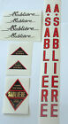 Andre Sabliere set of decals vintage French