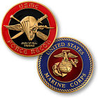 U.S. Marine Corps / Force Recon - USMC Brass Challenge Coin