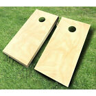 Plain Unfinished CORNHOLE BOARDS SET Bean Bag Toss + 8 ACA Regulation Bags