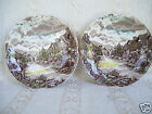 Lot 2 Johnson Bros Olde English Countryside Bread & Butter 6 1/2