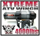 NEW! XTREME 4000X ATV WINCH BAD ASS SERIES 4000lb