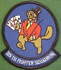 US Air Force 125th Fighter Squadron Beavers Patch