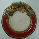 FITZ & FLOYD china HOLIDAY SOLSTICE pattern Round Vegetable Serving Bowl 13-1/4