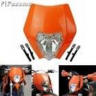 KTM ORANGE HEADLIGHT ENDURO ROAD LEGAL SX EXC XCF SXF Streetfighter lamp Fairing