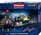 Carrera GO!!! World Champions (Red Bull Racing) 1/43 slot car race set 62278