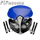 Blue Supermoto Streetfighter Led Headlight Fairing YAMAHA WR250F/X WR450F YZ250