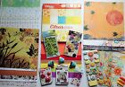 Scrapbook Paper Embelishments Stickers and Stamps