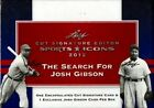 2012 Leaf Sports Icons Cut Signature Edition Hobby Box : Search for Josh Gibson