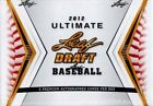 2012 Leaf Ultimate Draft Baseball Hobby Box - 5 Autos Per Box - Possible Puig??