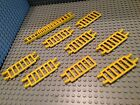 Lego Lot Of 9 Mixed Yellow Ladder Parts / Bars / Pirate / City / Yellow 9x