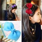 New Fashion Ribbon Children Girls Ladies Headband Hair Band Bow Accessories Gift