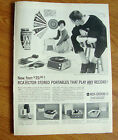 1960 RCA Victor Stereo Portables Ad