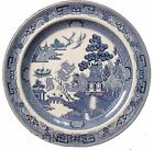 WEDGWOOD china WILLOW BLUE pattern Dinner Plate @ 10