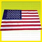 3x5 Ft EMBROIDERED American Flag USA Deluxe Nylon US with POLE POCKET SLEEVE
