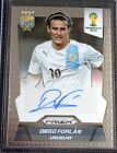 2014 Panini Prizm FIFA World Cup Brazil Diego Forlan (Uruguay) Autograph