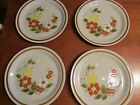 Vintage Stoneware Japan Mountain Wood Collection Trellis Blossom 4 dinner plates
