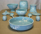 Peasant Village~Vintage Pottery Italy Majolica~11 Piece Serving Set~Numbered !!!