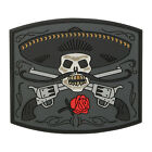 Maxpedition  3D PVC Morale Patch  /  El Guapo Bandito Skull  / SWAT Color
