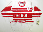 YZERMAN DETROIT RED WINGS AUTHENTIC 1992 VINTAGE CCM 6100 HOCKEY JERSEY SIZE 48