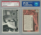 1966 Topps, Lost In Space, #30 Urgent Warning, PSA 8 NMMT