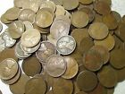 Teens Dated Wheat Penny Lot // 1909-1919 // P-D-S // 1000 COINS
