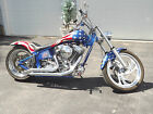 Custom Built Motorcycles : Chopper 2002 Harley Davidson Softail Custom Chopper Military Troop Tribute Bike