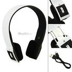 WHITE INFINITY BLUETOOTH WIRELESS HEADSET/HEADPHONES WITH CALL MIC/MICROPHONE
