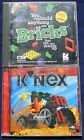 Gryphon Bricks and Virtual K'Nex CD-Roms - Free Shipping