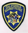 CALIFORNIA HIGHWAY PATROL EUREKA PATCH VINTAGE FROM 70'S VERY SPECIAL SIZE 3.5