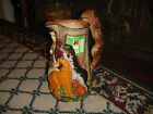 Superb Samuel Alcock Pitcher Jug-Old Feeding Time--Dog Theme-Burslem England